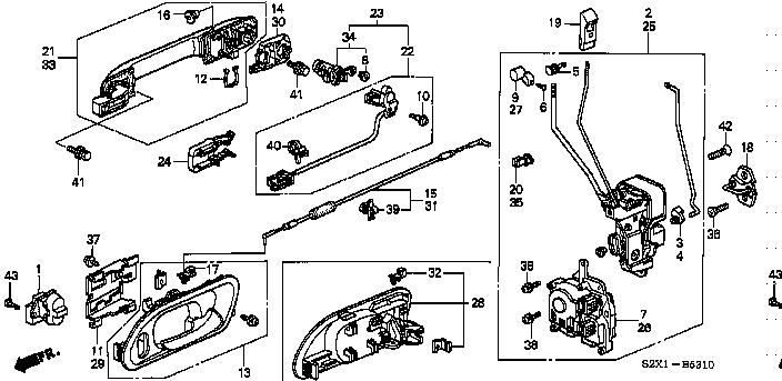 Схема двери водительской мазда 3