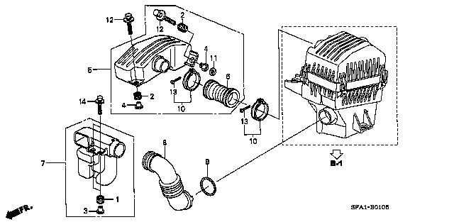 ua jb5 honda fig list|jp carparts com b 1 5 resonator chamber jb5 jb6