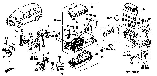 dba rr3 honda fig list jp carparts com rh jp carparts com wiring diagram honda odyssey 2003 wiring diagram for honda odyssey 2007
