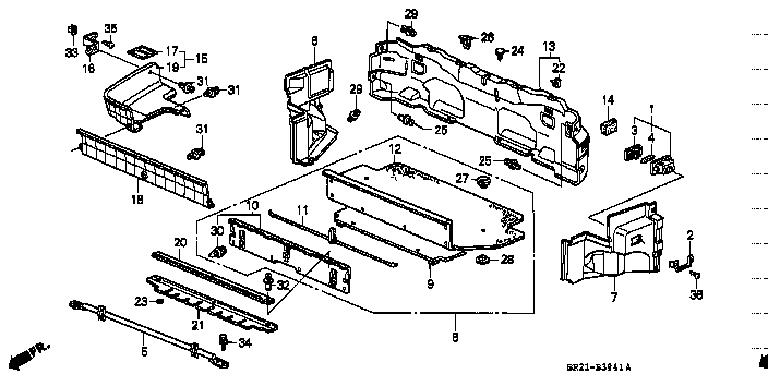 98 Honda Civic Speedometer Wiring Diagram likewise Honda Accord Fuse Box Diagram 374841 moreover 42lhj 1996 Nissan Maxima No Spark Changed further RepairGuideContent additionally 94 Integra Gsr Engine Harness Diagram. on 00 integra engine sensor diagram