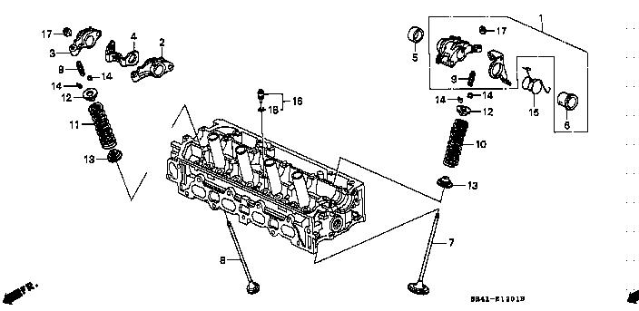 Honda Genuine 77520-TA0-A01 Glove Box Cylinder