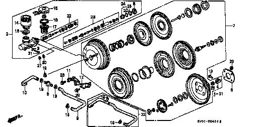 e ra1 honda fig list jp carparts C35a Engine Diagram b 24 1 brake master cylinder master power