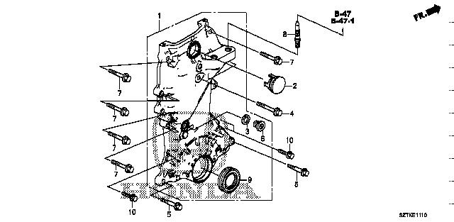 14Mm Honda 15302-PE0-300 Washer