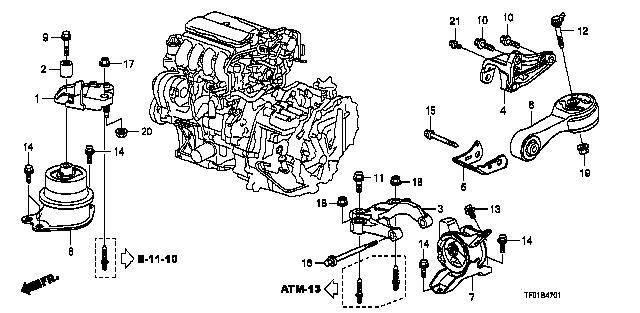 50890  rod  torque    fit    honda