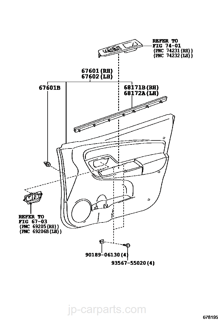 Genuine Hyundai 81900-28C10 Steering and Ignition Lock Assembly