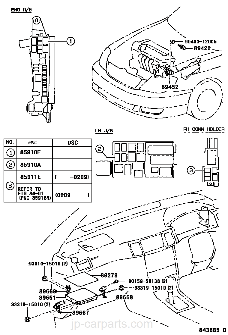 Electronic Fuel Injection System Toyota Part List Nze121 Corolla Wiring Diagram Select Image Size