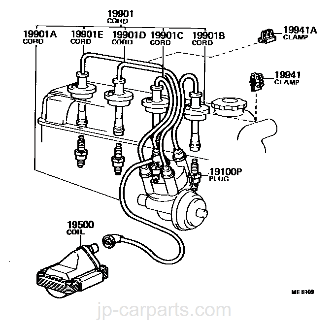 Coil On Plug Wiring