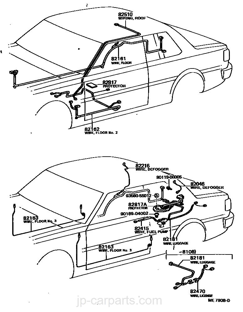 Wiring Clamp Toyota