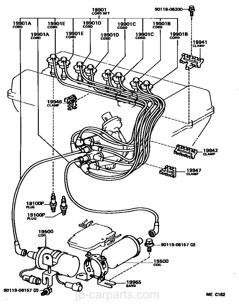 Ignition Coil Spark Plug Toyota
