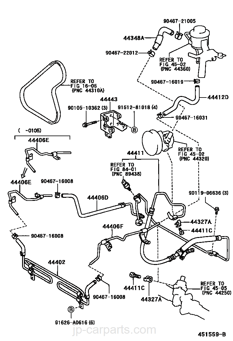 Power Steering Tube Toyota Part List Altezza Engine Diagram Select Image Size