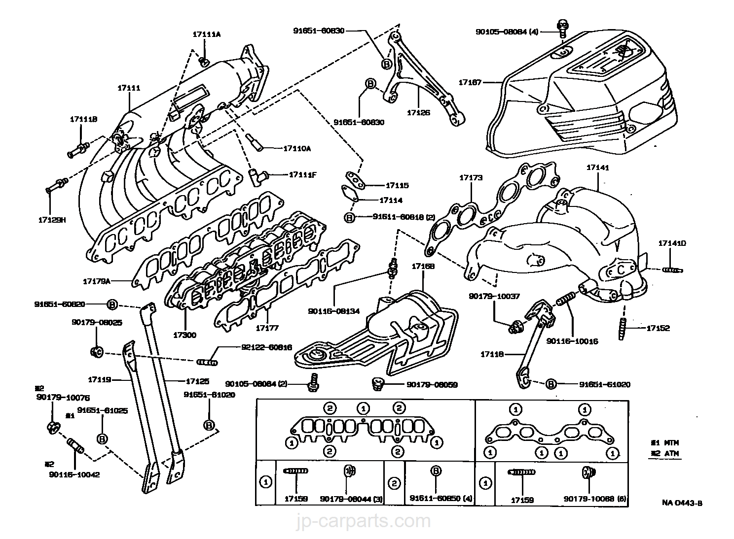 Manifold Toyota Part List R2 Engine Diagram Select Image Size