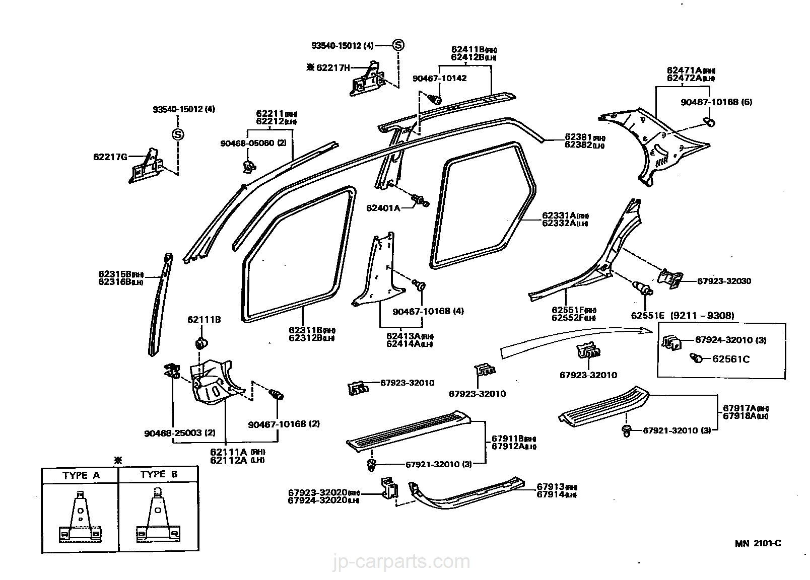 WeatherTech Custom Fit Rear FloorLiner for Toyota Land Cruiser Grey 461572