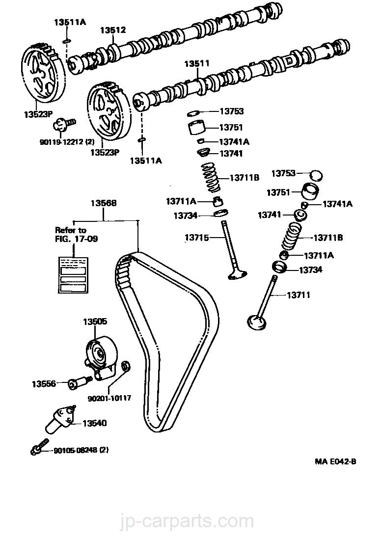 camshaft  u0026 valve    toyota