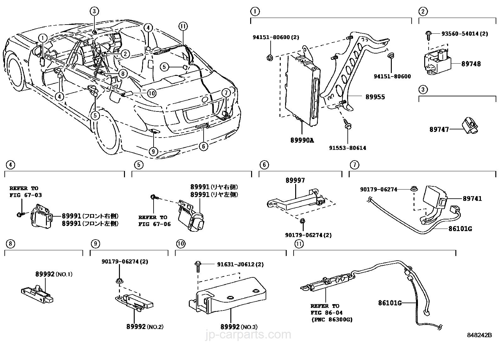 wireless door lock / lexus | part list|jp-carparts.com  jp-carparts.com