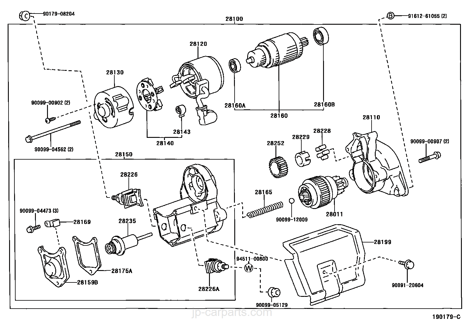 Starter Toyota Part List 3sfe Engine Wiring Diagram Select Image Size