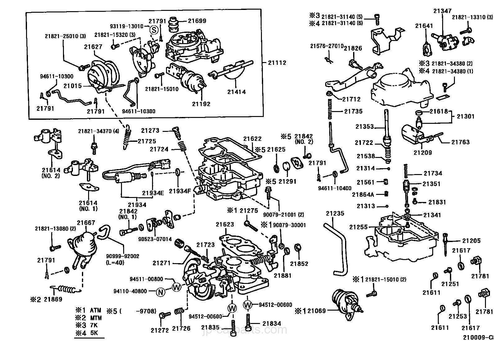 carburetor toyota part list|jp carparts com k-series engine select image size