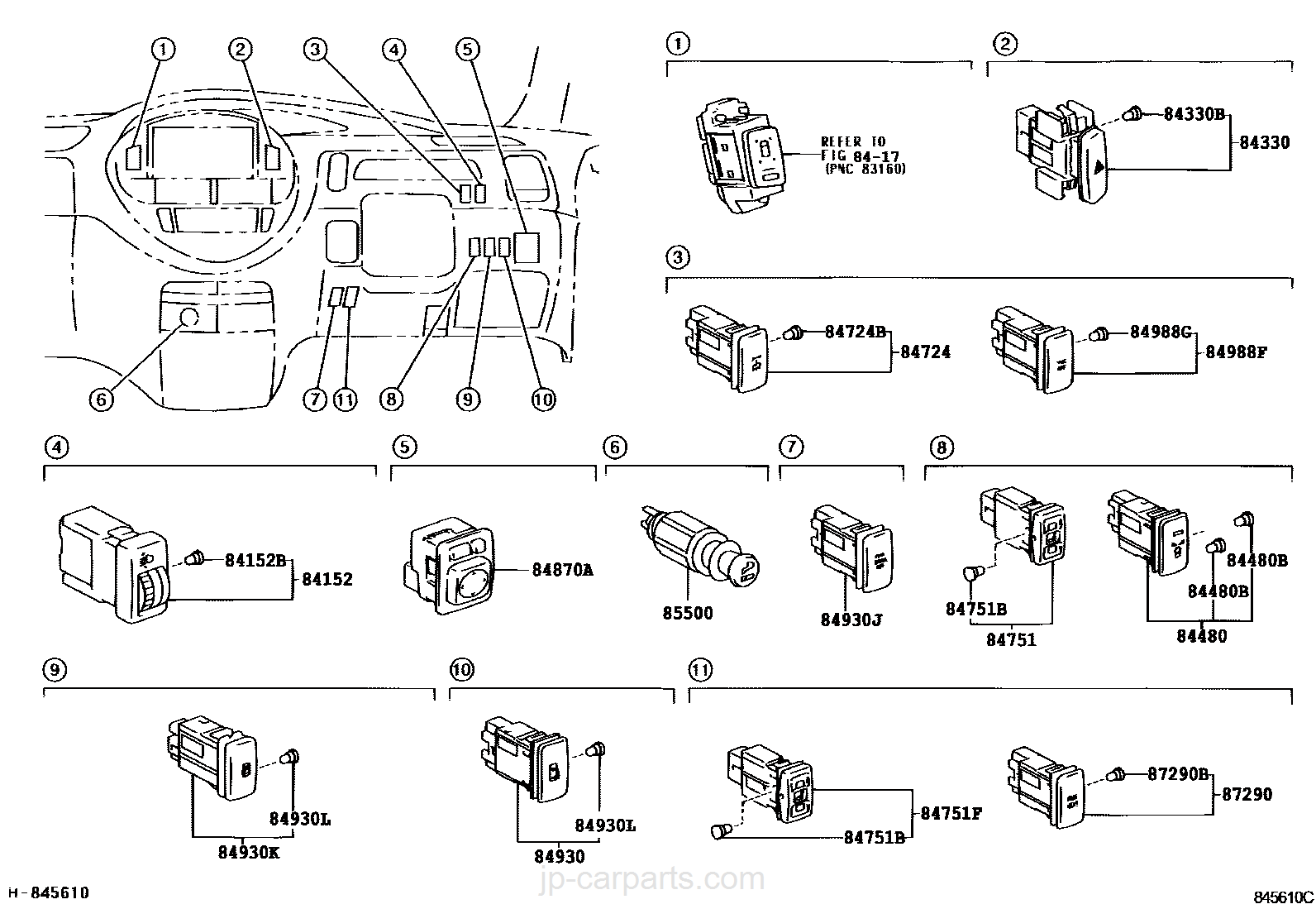 Switch Relay Computer Toyota Part List Previa Fuse Box Parts Select Image Size
