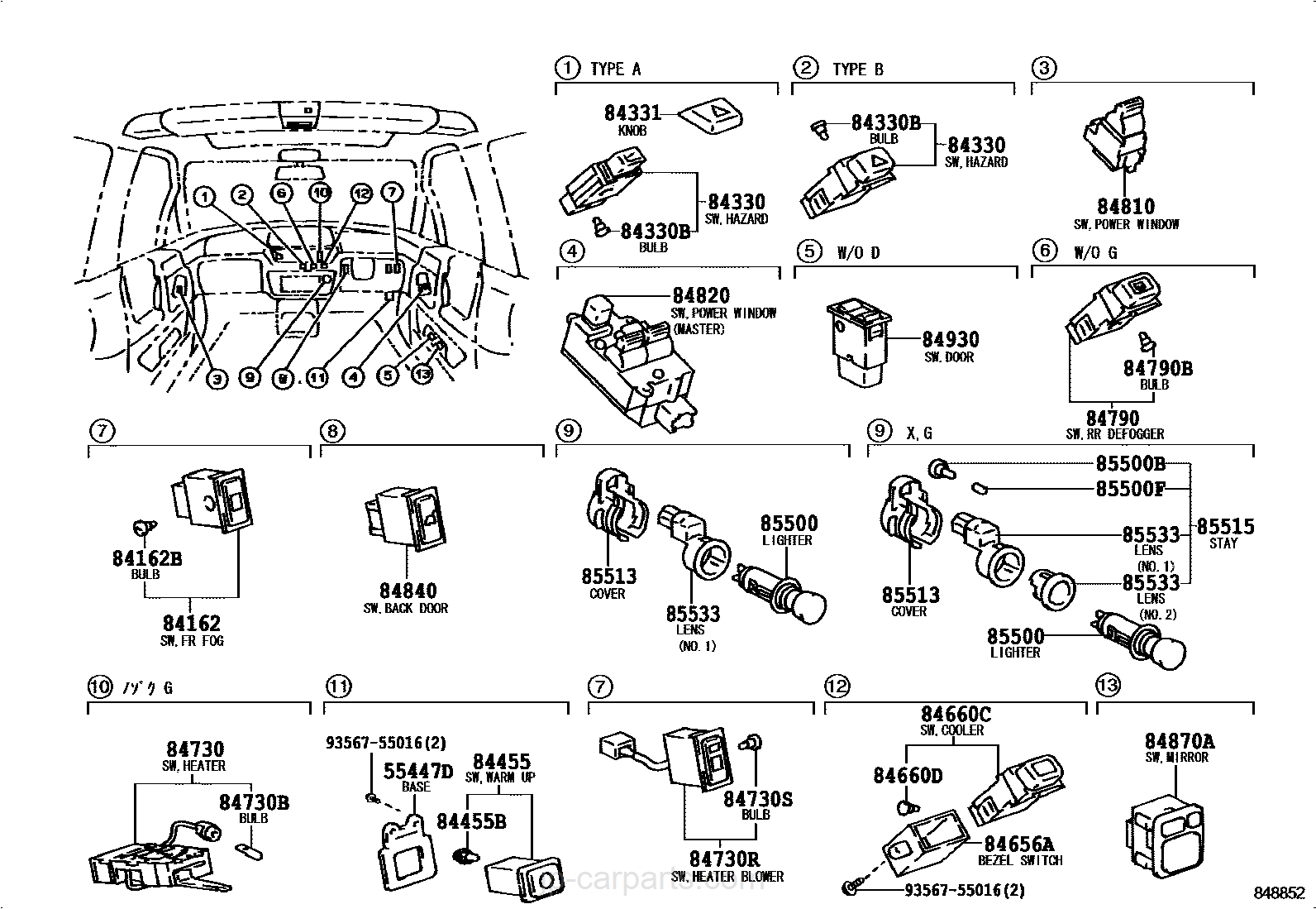 Toyota Emina Fuse Box Reinvent Your Wiring Diagram Previa Experts Of U2022 Rh Evilcloud Co Uk 1997 Van