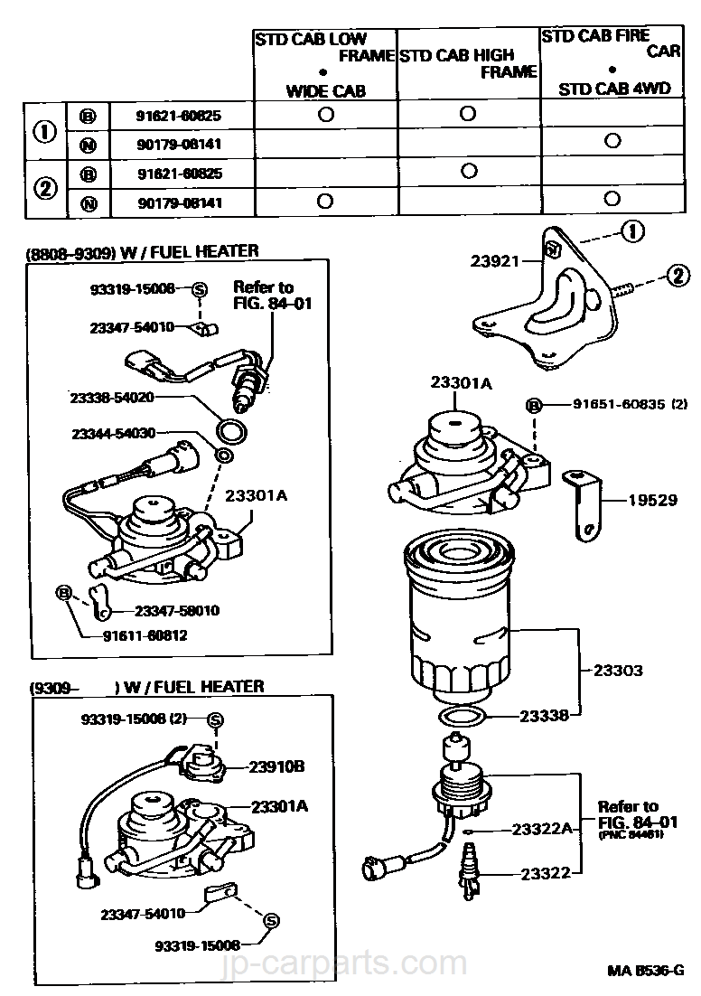 91 Toyota Pickup Aftermarket Parts Wiring Diagram And