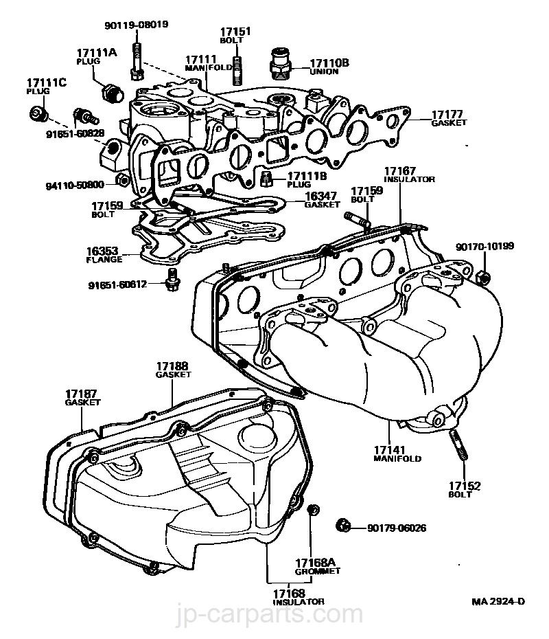 Manifold Toyota