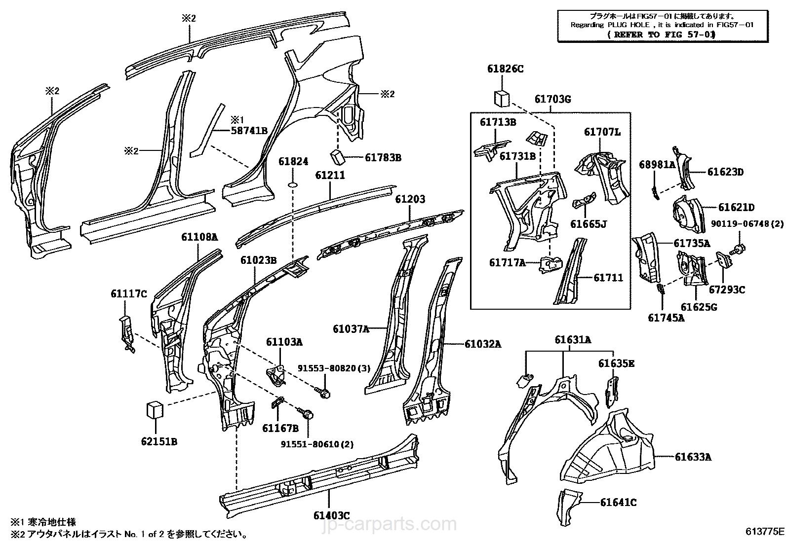 Side Member Toyota Part List 318 Engine Fuel Line Diagram Select Image Size