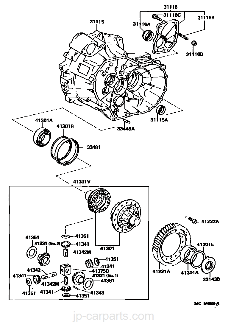 HICKS Replaces 510003 Front Wheel Hub and Bearing Assembly