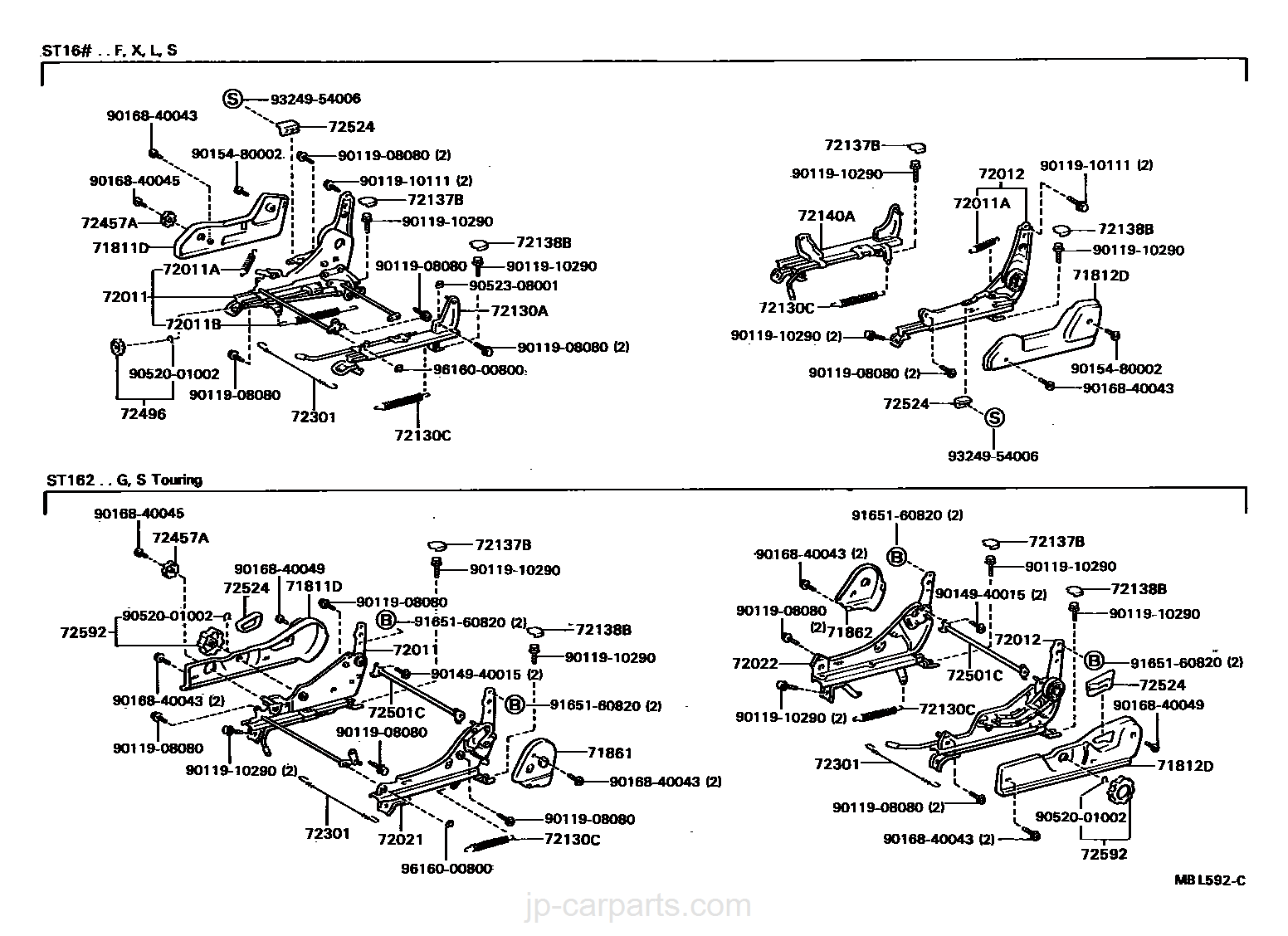 1997 Audi A6 Wagon Brown Driver Passenger /& Rear GGBAILEY D3743A-S1A-CH-BR Custom Fit Automotive Carpet Floor Mats for 1995 1996