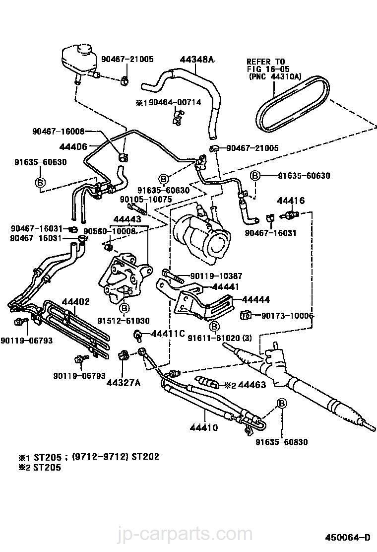 Power Steering Tube Toyota Part List 1993 Celica Engine Diagram Select Image Size