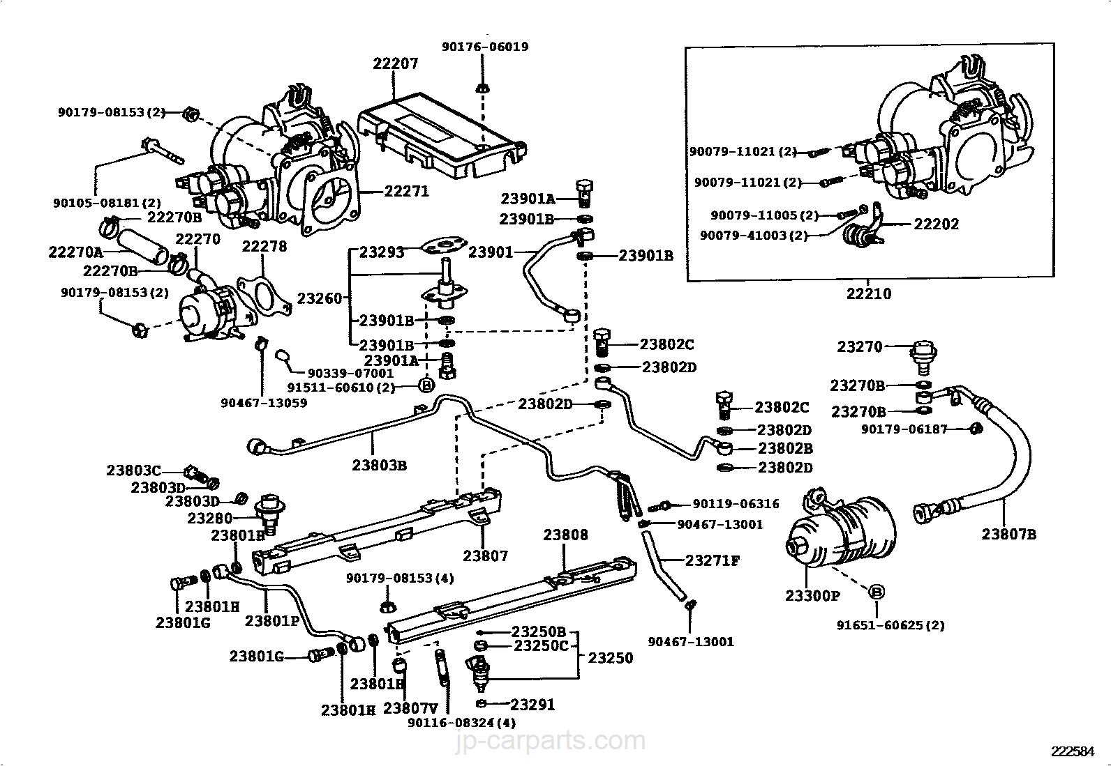 Fuel Injection System Toyota Part List 1uzfe Engine Diagram Select Image Size