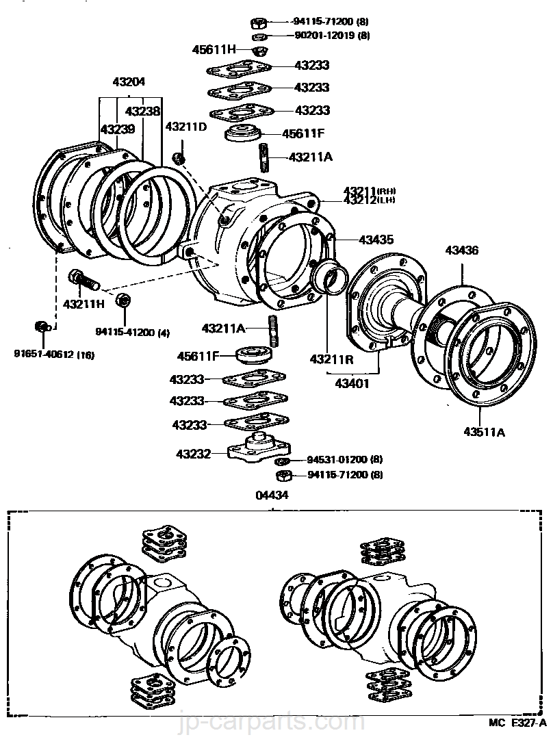 Front Axle Arm Steering Knuckle Toyota Part List Fj60 Starter Wiring Diagram Select Image Size